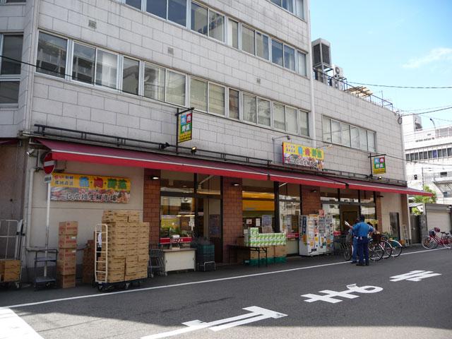 日本橋5丁目・スーパー「リベラル」跡には「日本橋生鮮市場」