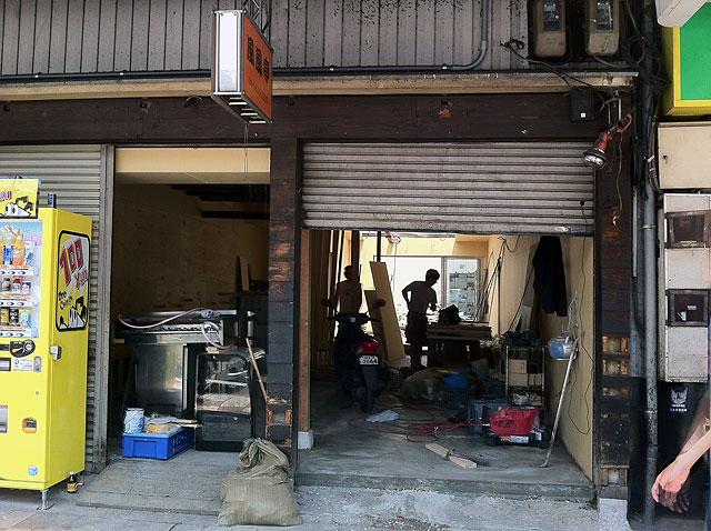 日本橋5丁目・たこ焼き「風風亭」跡には飲食店が出店か?