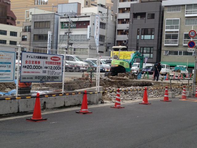 オタロードの駐車場「タイムズ大阪難波」が一部駐輪場に 放置規制強化も