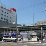 日本橋4丁目のニノミヤ本店跡地に新たな動きが?