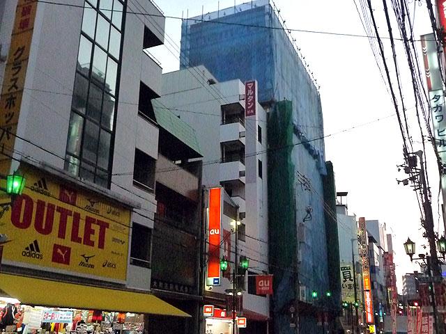 日本橋5丁目のたこ焼き「得心」、早くも撤退?