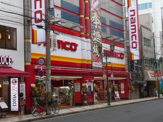 ナムコ、なんさん通りに大型アミューズメント施設をオープン
