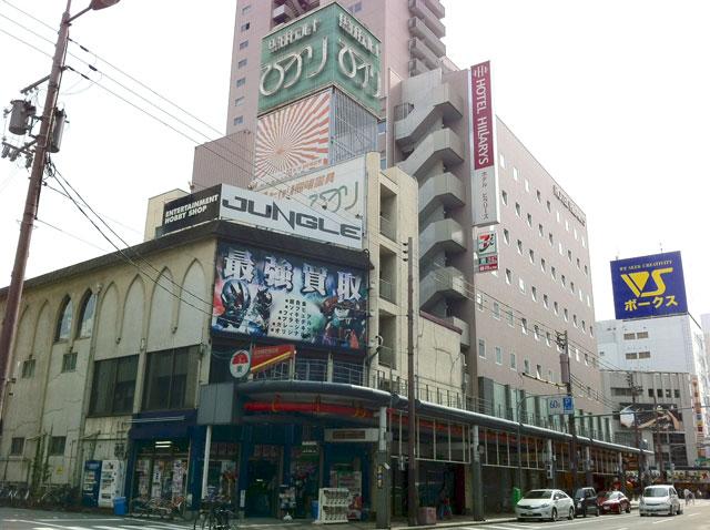 日本橋3丁目の「照明デパートひかり」跡に動きが?