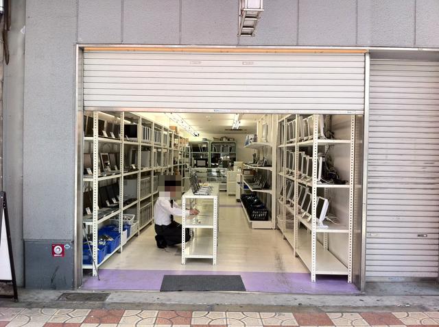 日本橋4丁目に中古PC専門店「PCドム」がオープン