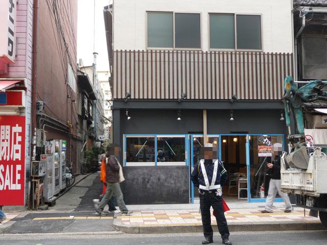 なんさん通りに「つけ蕎麦 力屋」が12/8オープン予定