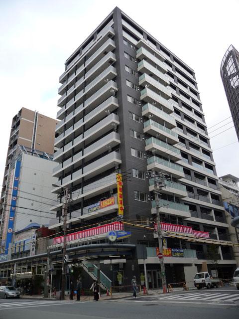 日本橋5丁目・マンション「ルネ日本橋」は2階まで店舗?