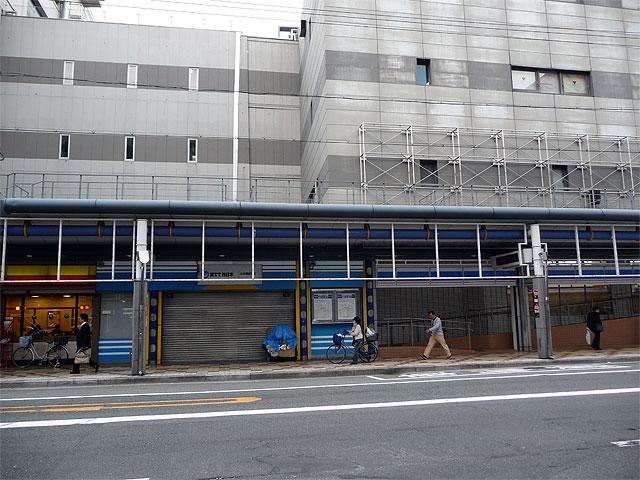 日本橋5丁目・元NTT営業所跡で新しい動きが?