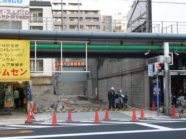 日本橋4丁目「ミニON」跡は結局コインパーキングに