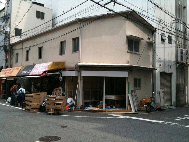 日本橋4丁目・沢池電気跡で新規出店の動き?