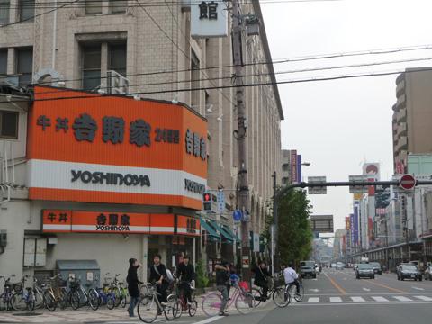 吉野家、日本橋3丁目の店舗を今月末で閉店