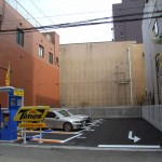 日本橋4丁目・小池第3営業所跡はコインパーキングに