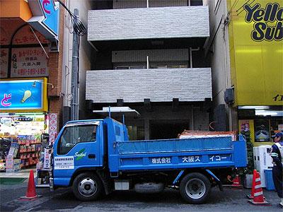 日本橋3丁目のマンション「ビガーポリス」、まもなく完成か