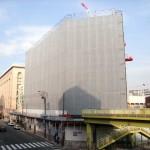 旧ヤマギワ跡にビジネスホテル「ヒラリーズ」が6月オープン予定