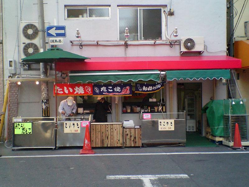 日本橋4丁目の旧「k-popsfan」跡がたこ焼き屋に