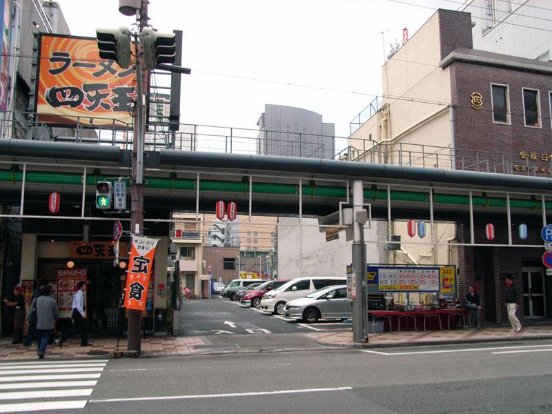 日本橋4丁目のコインパーキング「Times」は今月末で閉鎖