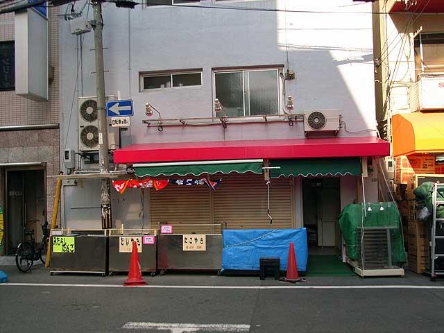 日本橋4丁目の旧「k-popsfan」跡はたこ焼き屋?
