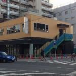 恵美須町・りそな銀行跡の商業ビル、1階はセブンイレブンが出店