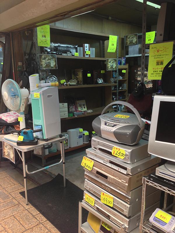 日本橋商店会内にリサイクルショップ「宝島」がオープン