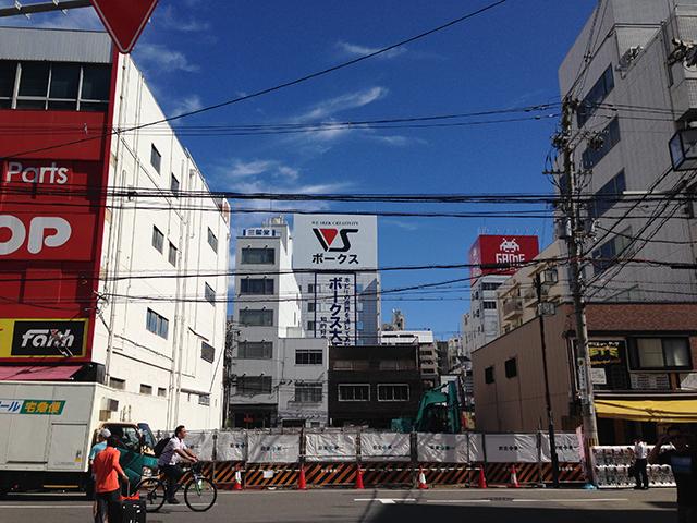 日本橋4丁目・オタロード沿いで新たなテナントビル建設計画