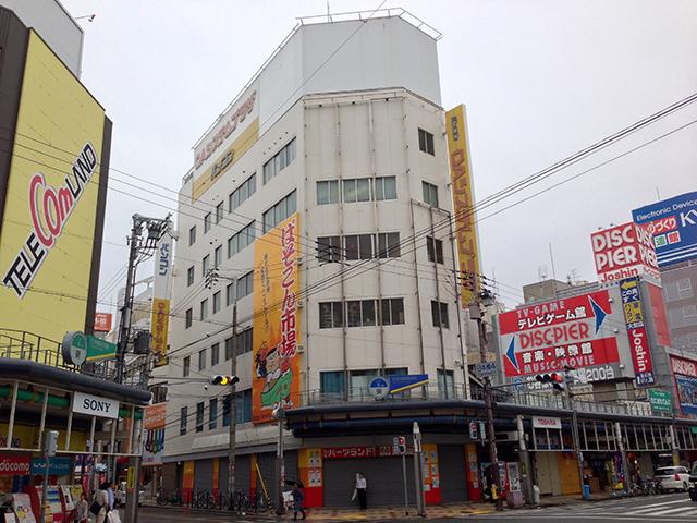 日本橋5丁目の電子パーツ専門店「パーツランド」が経営破綻