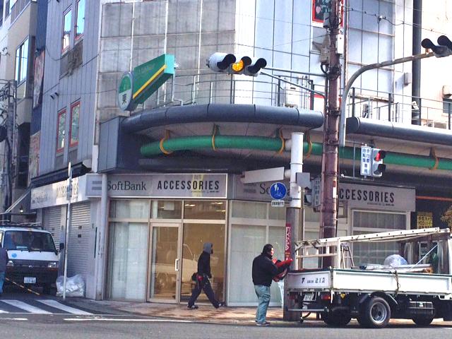 日本橋4丁目・アフィリア跡はソフトバンクショップ アクセサリ特化型?
