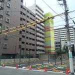 日本橋東の旧「喜多ビル」は解体、コインパーキングに