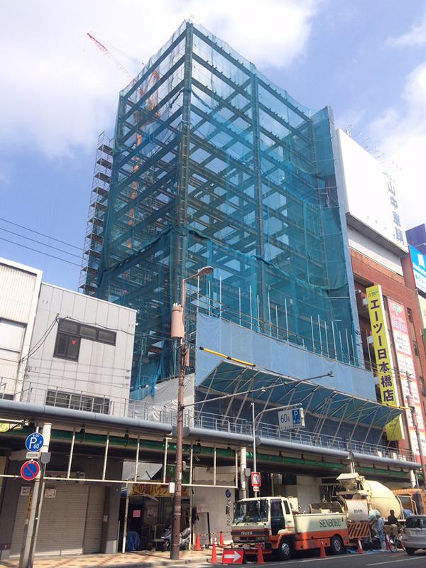 ニノミヤ日本橋本店跡にはビジネスホテル「東横イン」が来春進出