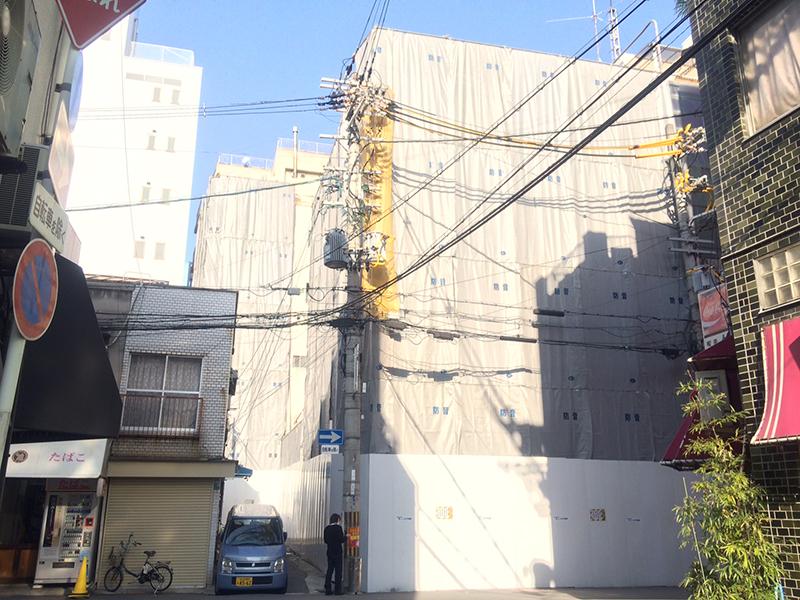 日本橋3丁目の「宮原医院」跡は解体へ マンション建設か?
