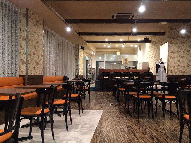 日本橋19ビルのメイドカフェ「ヴィランジュ」は今月17日オープンへ