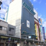 日本橋4丁目に建設中のホテル「東横INN」、オープンは7月末に