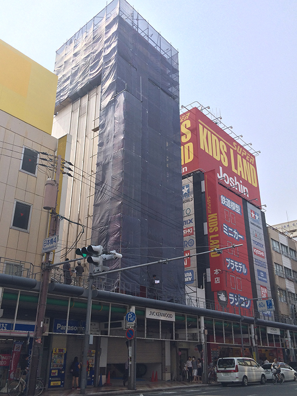 日本橋4丁目・中川ビルに上新電機の大型免税店が出店へ