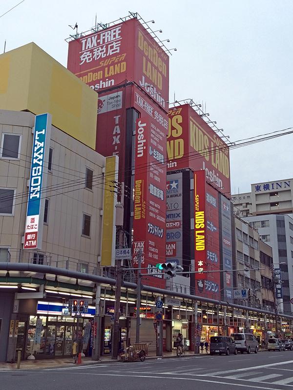 上新電機の免税店「スーパーでんでんランド」のオープンは今月11日に