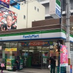 オタロード沿いにコンビニ「ファミリーマート」の新店舗