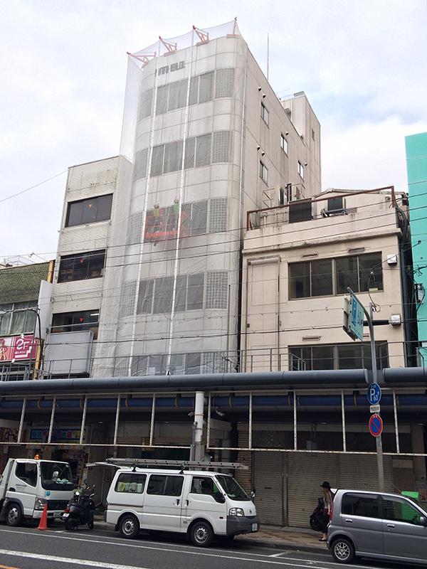 日本橋5丁目・堺筋沿いの元「ビリケン堂」跡に動きが?