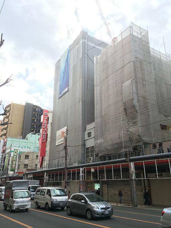 日本橋3丁目・堺筋沿いにホテル進出計画 マンションから計画変更
