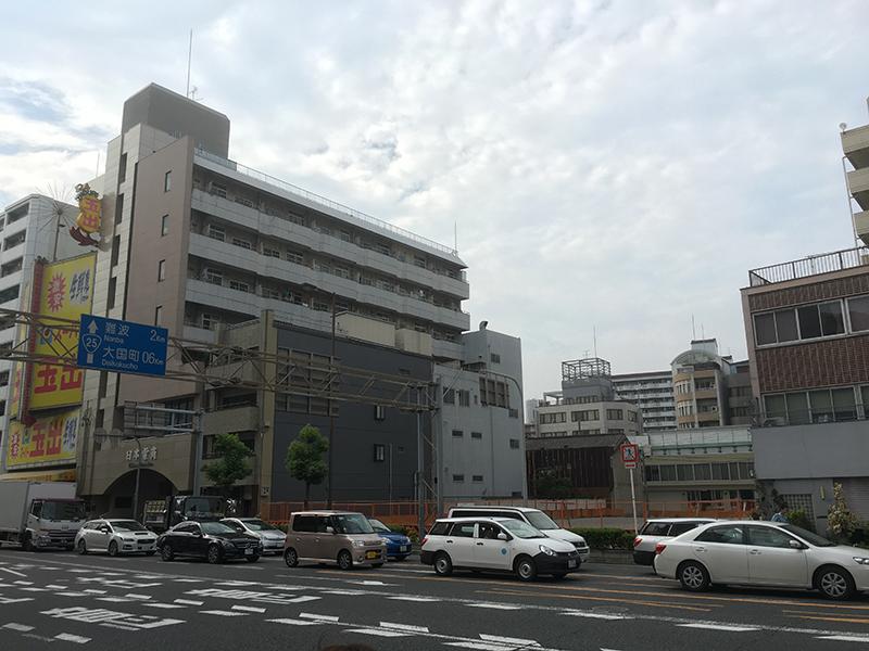 恵美須町駅前の元「シャープ恵美須ビル」跡にホテル進出計画