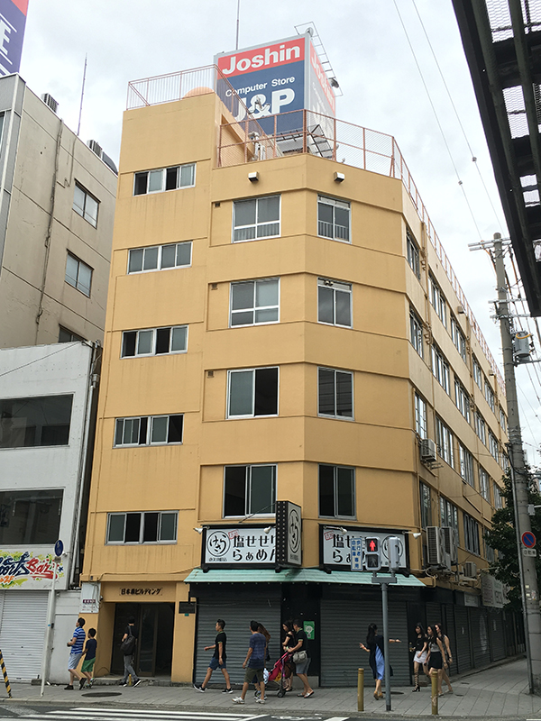 日本橋5丁目の「日本橋ビルディング」、今後はどうなる