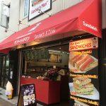 日本橋3丁目にホットサンド専門店「サンドイッチマン」がオープン