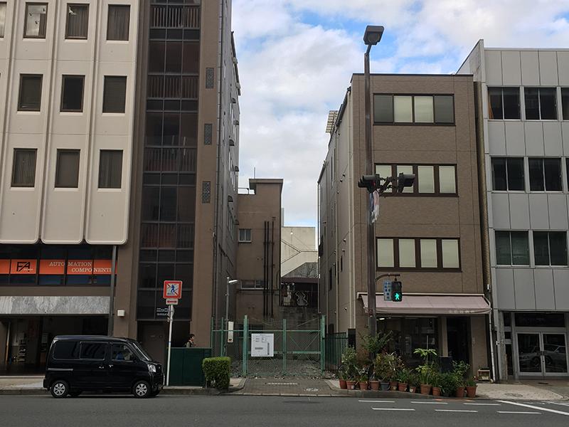 日本橋3丁目南交差点近くで新たなホテル進出計画