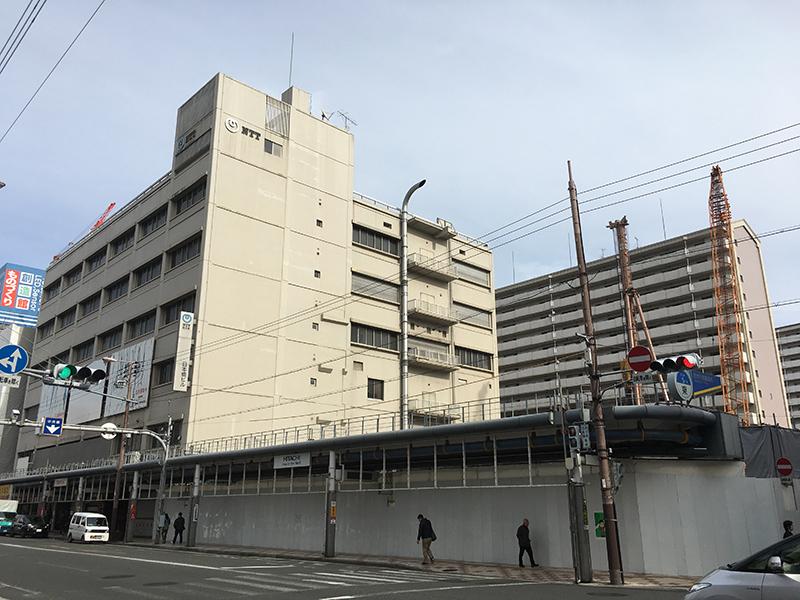 日本橋5丁目・NTTビル南館跡には15階建オフィスビルを新築へ
