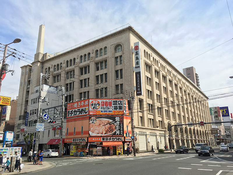 髙島屋東別館、宿泊施設へのリニューアル計画が浮上?