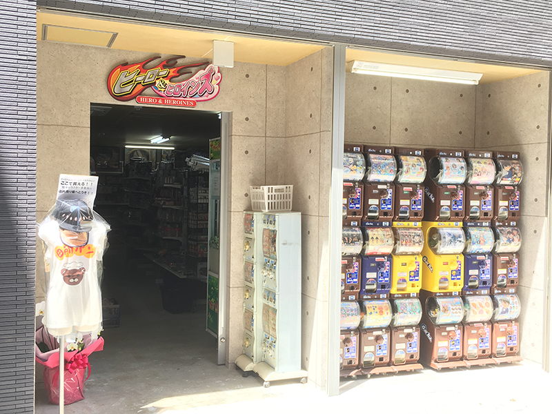 日本橋3丁目にキャラクタートイ専門店「ヒーロー&ヒロインズ」がオープン