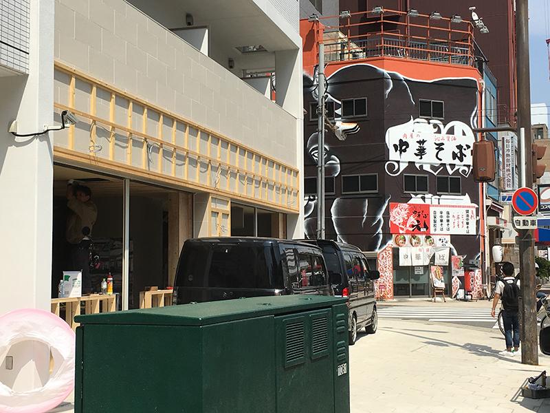 日本橋3丁目の「グラース難波イースト」1階で新規出店の動き