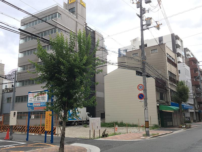 日本橋3丁目交差点近くで新たなホテル建設計画