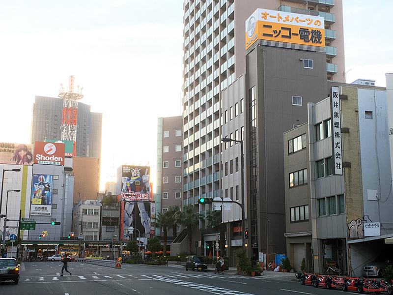 日本橋3丁目の元「ニッコー電機」ビル、今後の動向は