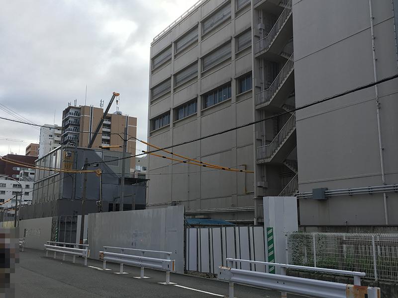 日本橋5丁目・NTT日本橋ビルの裏手でマンション建設へ