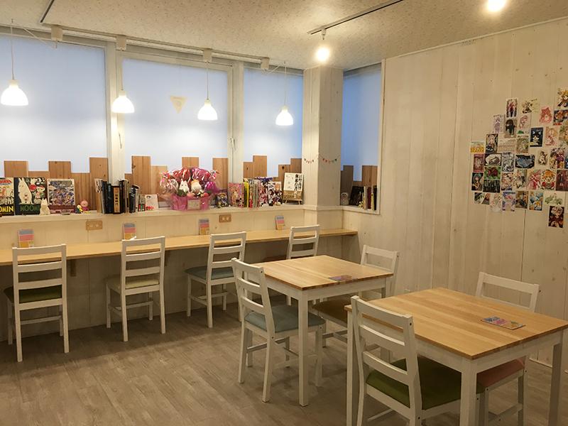 オタロード南端に「創作空間caféアトリエ」がオープン
