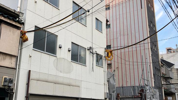 日本橋5丁目の「谷川ビル」は解体へ 今後は隣接地と合わせて開発か