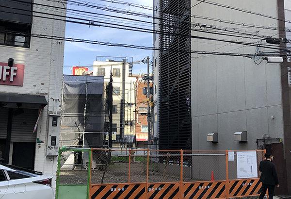 日本橋西・オタロード南端のホテル建設は隣接地買収で拡張へ