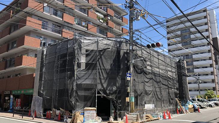 日本橋東3丁目にセブンイレブンの新店舗がオープン準備中